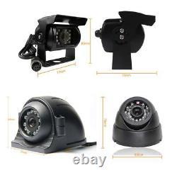 1080N 8CH GPS 4G HDD Car DVR MDVR Video Recorder CCTV Camera Monitor on PC Phone