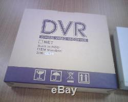 12v DC Dvr 4 Camera Digital Video Motion Recorder 160gb