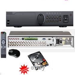 24Channel 1.5U case Hybrid HD-TVI DVR System Tri-brid Digital Video Recorder