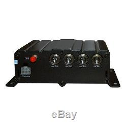 4CH Full HD Car DVR 720P Vehicle Car Mobile Digital Video Recorder Car Semi DVR