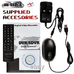 4 Channel Network Digital Video Recorder (DVR) Cloud Enabled 250Gb to 2Tb HDD