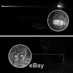 5X40 Digital Infrared Night Vision Monocular Telescope Camera 8GB Video Recorder