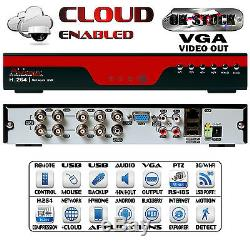 8 Channel Network Digital Video Recorder (DVR) Cloud Enabled 250Gb to 2Tb HDD