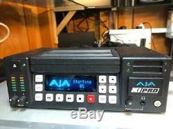 AJA Ki Pro Portable Digital File Recorder 250 GB drive