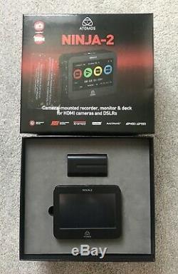 Atomos Ninja 2 Digital Recorder and HDMI Video Monitor