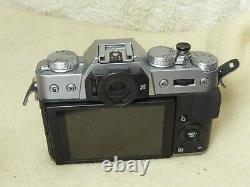 BOXED mint condition Fujifilm X-T10 Digital Camera Body Silver + stunning