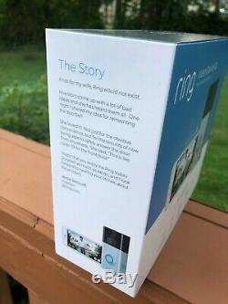 BRAND NEW! Ring Video Doorbell 2 Wire-Free Video Doorbell with 1 Year Warranty