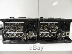 Banc De Montage Video Betacam Sx Sony Dnw-a25p+ Dnw-220p Digital Editor+record