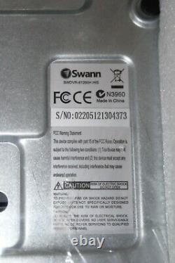 Brand New Swann DVR-1260 8 Channel 1TB HDD CCTV Digital Video Recorder #Ref82