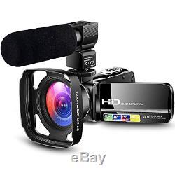 Camcorder Video Camera Ultra HD 1080P Vlogging YouTube Digital Recorder Camera 2