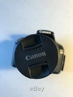 Canon EOS 1100D / Rebel T3 12.2 MP Digital SLR Camera with 18-55mm Lens Black