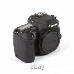 Canon EOS 80D Digital SLR Camera Body Full HD 1080p Video Recording at 60 fps Uk