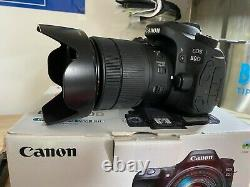 Canon EOS 80D Digital SLR Camera Body with18-135mm lens
