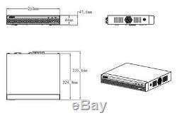 Dahua XVR5116HS 16CH Digital Video Recorder Support HDCVI/AHD/TVI/CVBS/IP Camera