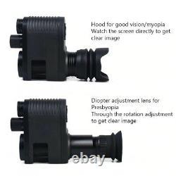 Digital Night Vision Video Recording Monocular Scope Camera Photo Riflescope US