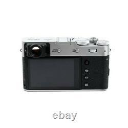 FUJIFILM X100V Digital Camera 4K Video Recording 26.1MP LCD Monitor Silver New
