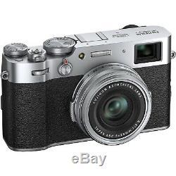 FUJIFILM X100V Digital Camera Silver UHD 4K Video Record with 1 Year UK Warranty