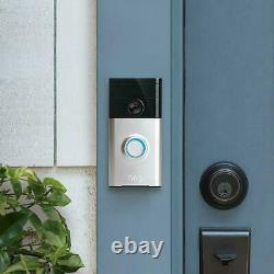 Genuine Ring Video Doorbell 2 1080P Video With Motion-Activated Two-Way Talk
