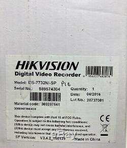 HIKVISION DS-7732NI-SP DS-7700 SERIES Digital Video Recorder