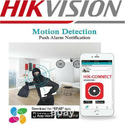 HIKVISION NVR 4/8/16CH CCTV 4K 8MP Network Video Recorder Home Outdoor IP PoE UK