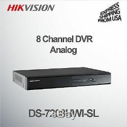 Hikvision 8 Channel Digital Video Recorder Analog DVR WD1 960H DS-7208HWI-SL