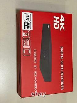 Hikvision DVR-8CH-8MP-4K AcuSense Turbo Digital Video Recorder CCTV Recorder OEM