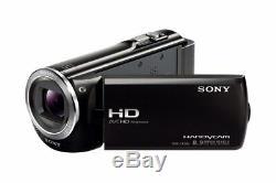 MINT SONY HDR-CX380 Digital HD Video Camera Recorder +2 Batteries +CASE +64GB