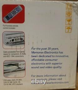Memorex MVDR 2102 Digital Video DVD Recorder/Player NEW NIB Transfer VHS to DVD