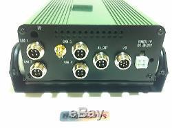 Mobile DVR 4ch GPS+500gb sim WCDMA 3G Security Digital Video Recorder ShockProof