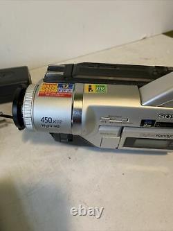 NICE Sony DCR-TRV120 Digital8 Camcorder Record Transfer Hi8 Video 8 TESTED