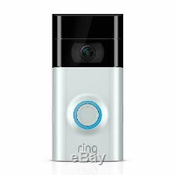 New Ring Video Doorbell 2 HD Video Wi-Fi Two-Way Talk Motion Detection UK Stock