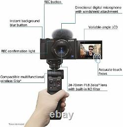 New Sony ZV-1 Digital Camera Vlogging Camera Touch Screen Video Recorder Webcam