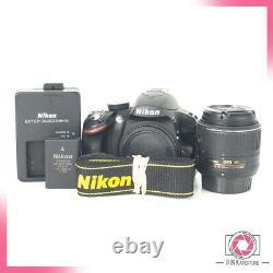 Nikon D3200 Digital SLR Camera With 18-55mm AF-S DX VR II Lens