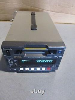 OEM panasonic DVCPRO digital video cassette recorder model AJ-D230HP