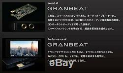 ONKYO DP-CMX1 GRANBEAT Digital audio player Black FROM JAPAN NEW