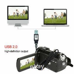 ORDRO AC3 4K 24MP 30X WIFI 3inch IPS LCD DIGITAL VIDEO CAMERA CAMCORDER RECORDER