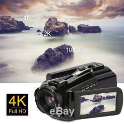 ORDRO AC3 4K WiFi Digital Video Camera Camcorder 24MP 30X Zoom IR DV Recorder