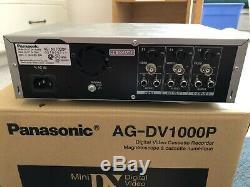 Panasonic AG-DV1000P Mini-DV VCR Digital Video Cassette Recorder
