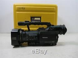 Panasonic AG-DVC80 Digital Video Camera Recorder 155 Hours Leica Dicomar MiniDV