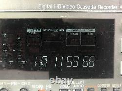 Panasonic AJ-HD1400P Digital HD Video Cassette Recorder DVCPROHD Low Hours VTR