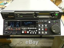 Panasonic DVCPRO AJ-D850P Digital Video Recorder Works Great! D3