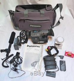 Panasonic Digital Video Camera/Recorder AG-EZ1 3CCD 20X Zoom Mic, Case, Batt +