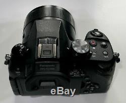 Panasonic LUMIX DMC-FZ1000EB Digital Camera 20.1MP 16x Zoom 4K Video Recording