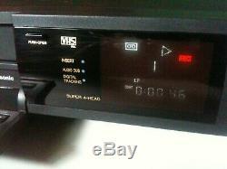 Panasonic NV-J35EE Video Cassette Recorder VCR HQ VHS PAL Digital Tracking Scan