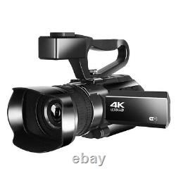 RX100 4K Digital Video Camcorder HD Touch Screen Photography Recorder For Webcam