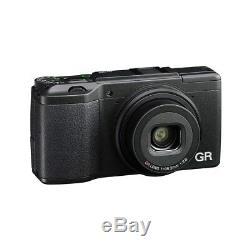 Ricoh GR II Digital Camera Full HD Video Recording Built-In Wi-Fi Hand Strap NEW