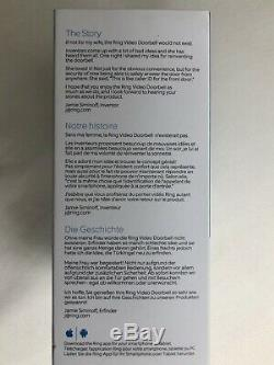 Ring 1080p HD Video Doorbell 2 (security sealed)