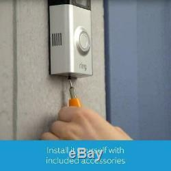 Ring Full HD 1080p Video Doorbell 2 with Chime
