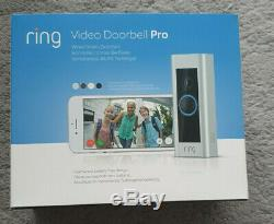 Ring Pro HD Video Doorbell Kit with wireless Chime Ringer