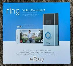Ring Video Doorbell 2 HD Video (2-Way Talk) Motion Detection Built-in Wi-Fi